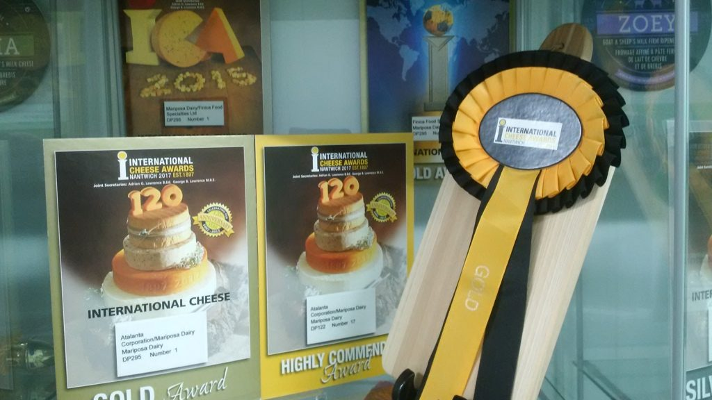 The International Cheese Awards (Nantwich, UK)